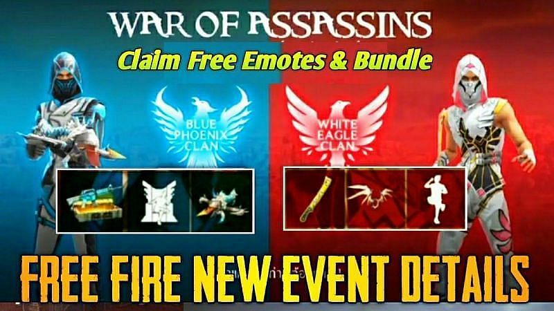 Free Fire in-game events