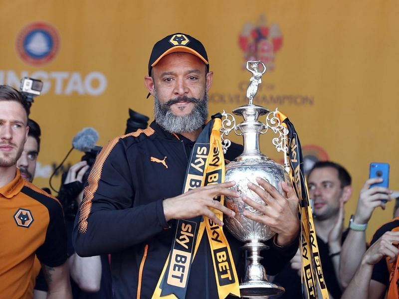 The Portuguese won the Championship with Wolves in his first season in charge