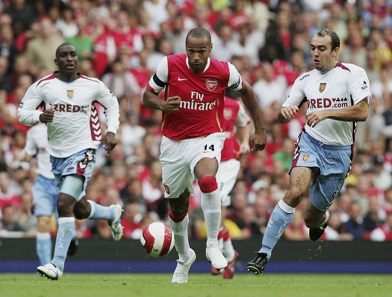 Thierry Henry during his Arsenal days