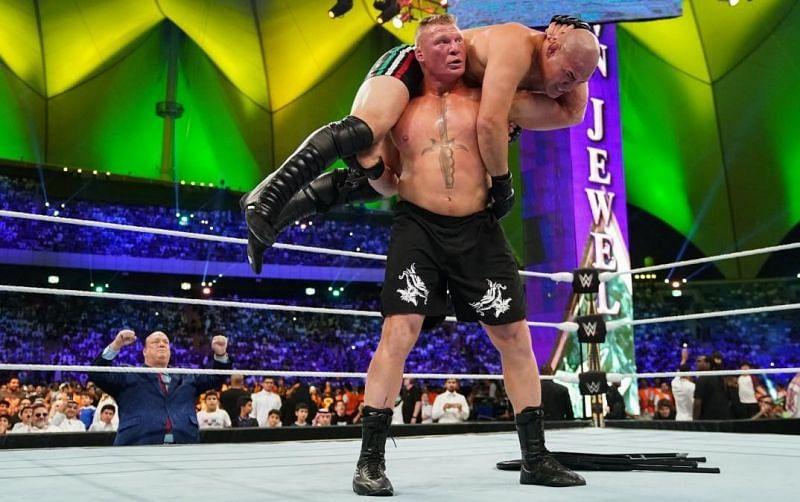 Cain Velasquez vs. Brock Lesnar at WWE Crown Jewel