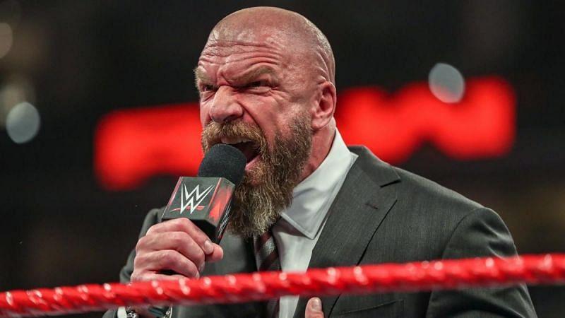 Triple H on Monday Night RAW