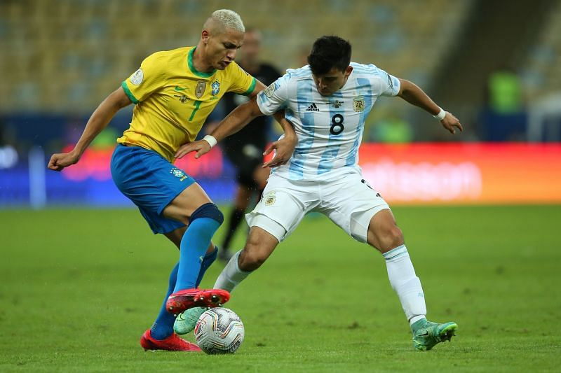 Richarlison was denied a goal in the final by the Argentine goalkeeper.