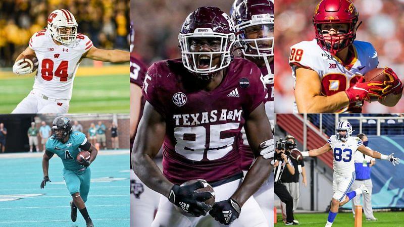 Sportskeeda's top-five TE's in college football