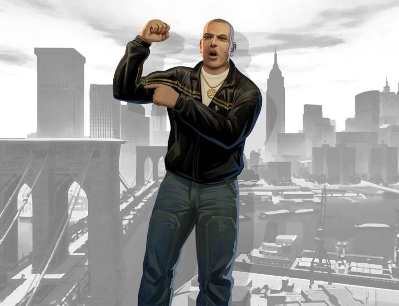 Brucie Kibbutz is a loudmouth ally of Niko's (Image via Rockstar Games)