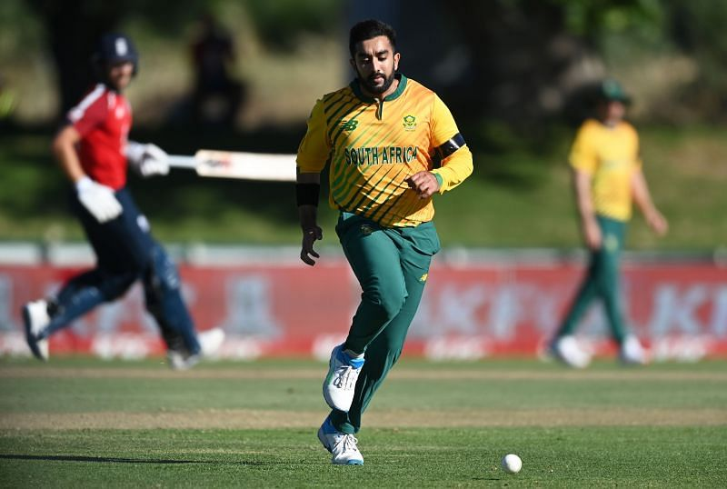 Tabraiz Shamsi has been on tour with South Africa since May.