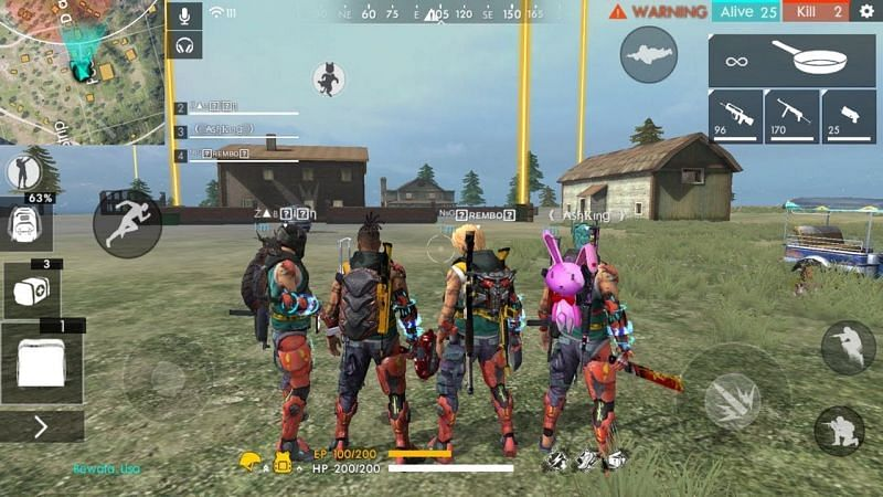 Keep the squad constant. (Image via Actionbolt, YouTube)