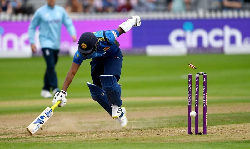 Sri Lanka failed to compete well against England