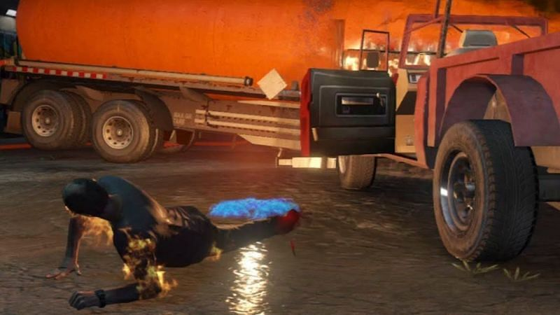 GTA 5 may cause players to shed a tear or two (Image via calloftreyarch, YouTube)