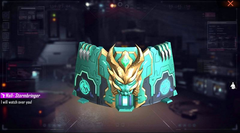 The Stormbringer gloo wall skin