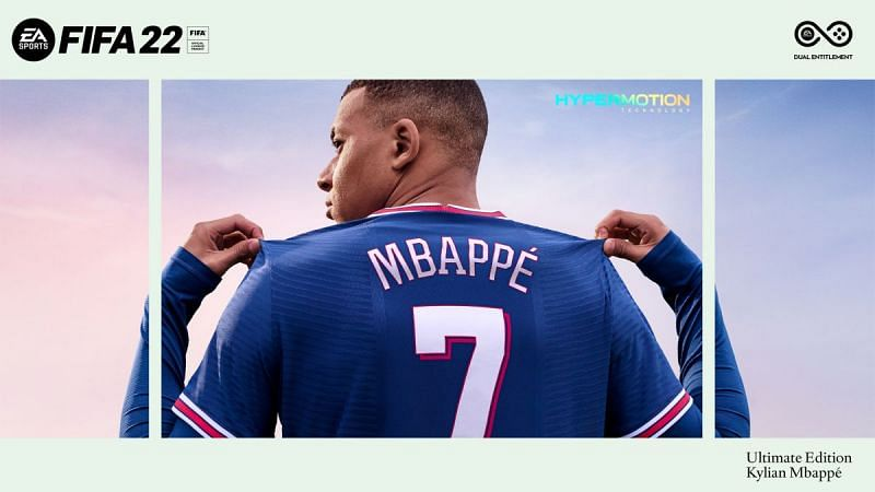 Kylian Mbappe, cover athlete. Image via Electronic Arts