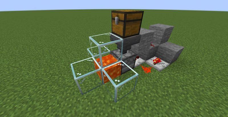 Eliminación de basura (Imagen a través de Minecraft)