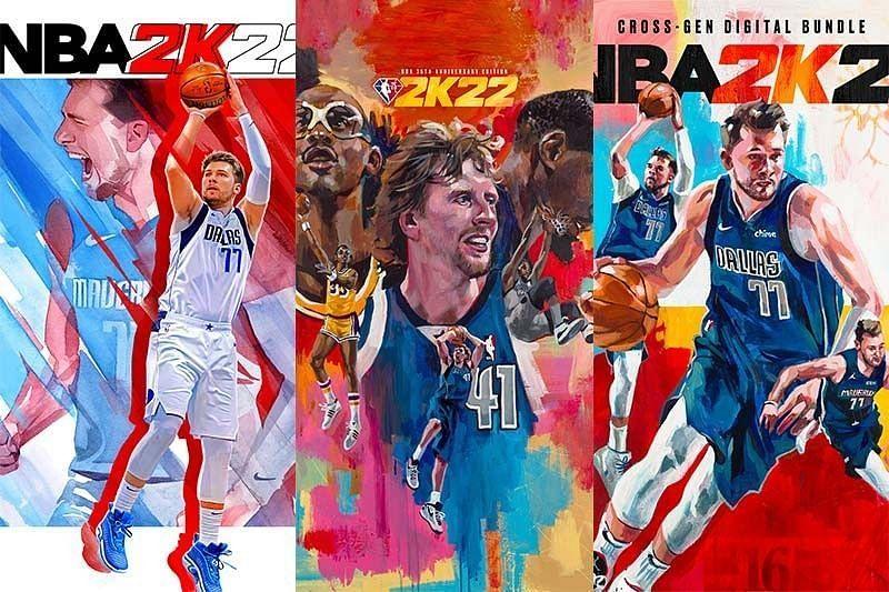 NBA 2K22 covers. Image via Phillipine Star