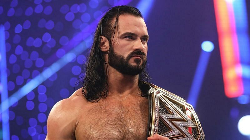 Drew McIntyre as WWE Champion