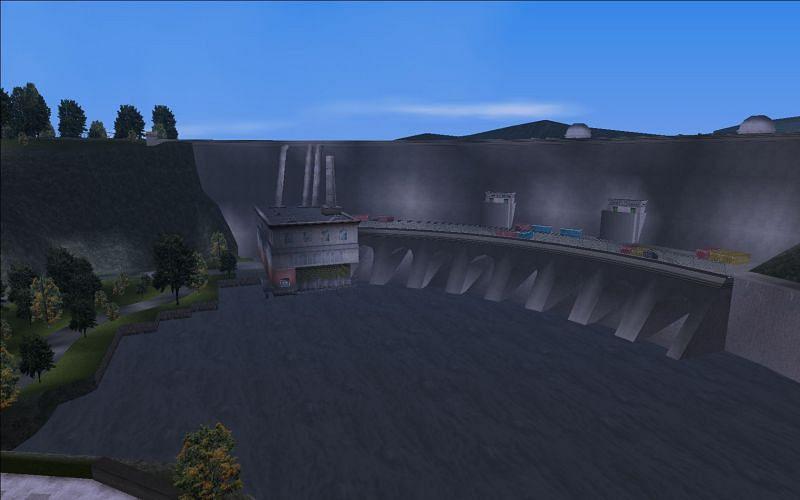Cochrane Dam (Image via GTA Wiki)