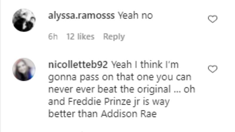 Screenshot from Instagram (2/5)