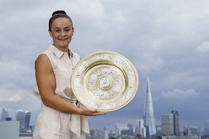 Wimbledon champion Ashleigh Barty is targeting Olympic gold in her best-ever season
