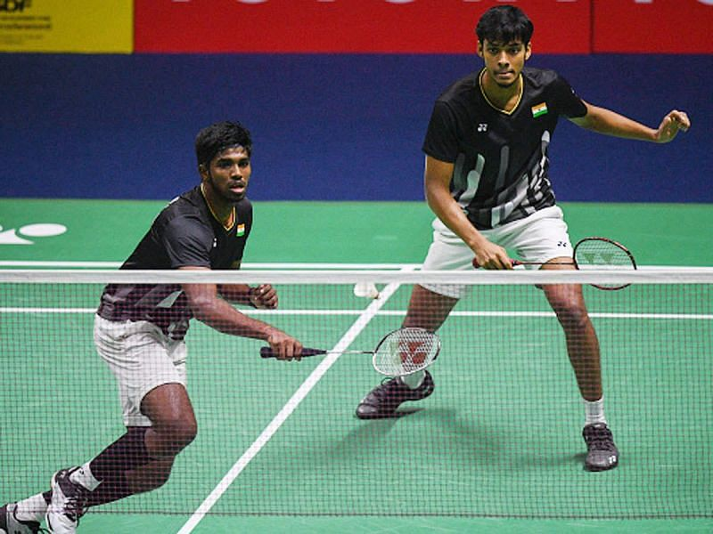 Satwiksairaj Rankireddy (left) and Chirag Shetty ended Tokyo Olympics campaign with a win