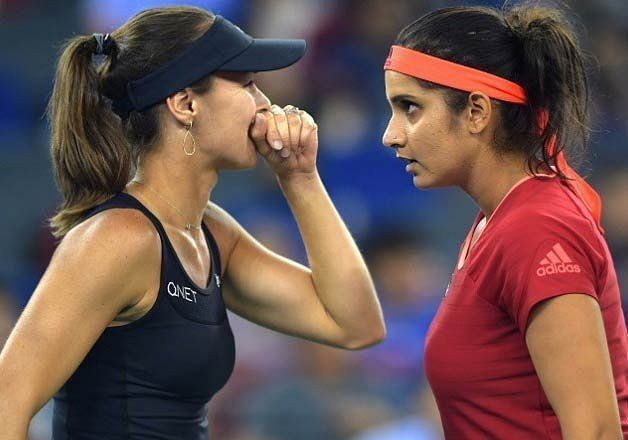 Martina Hingis and Sania Mirza were a world beating doubles pair