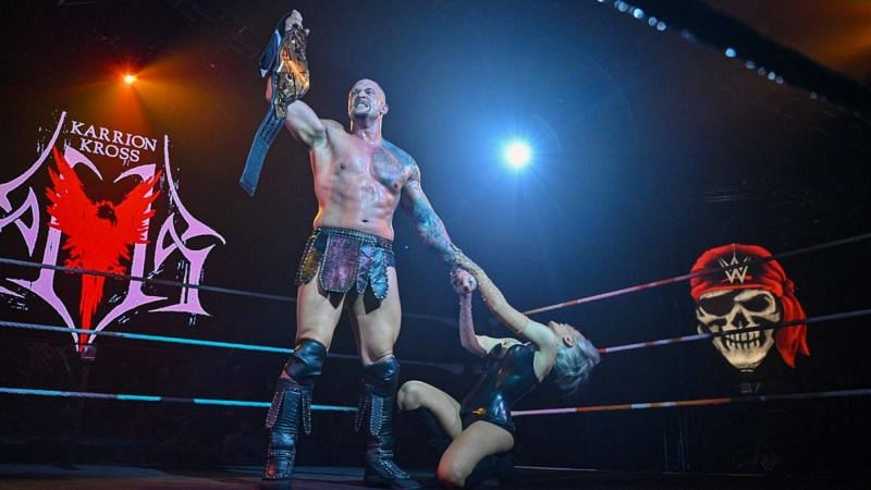 Karrion Kross is the current NXT Champion