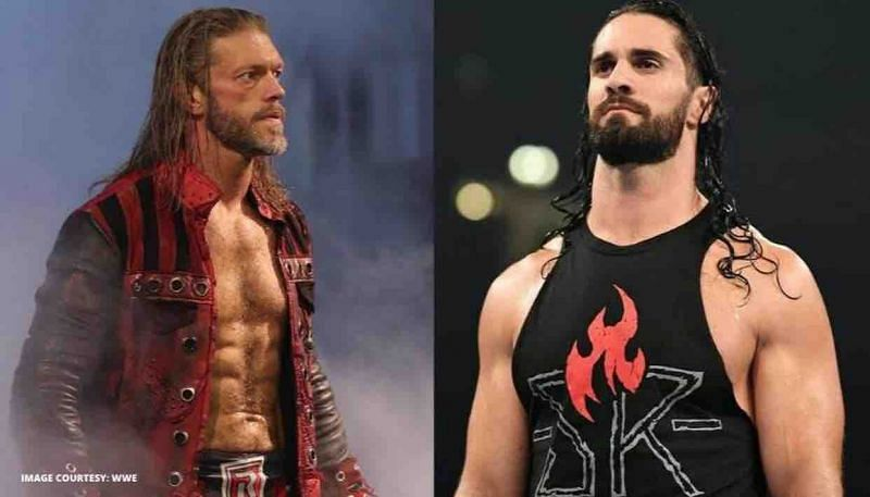 Seth Rollins and Edge have some tensions between them