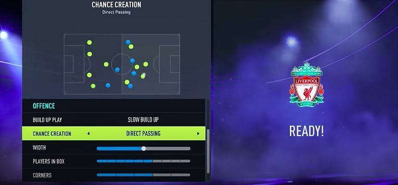 FIFA Attacking tactics. Image via YouTube