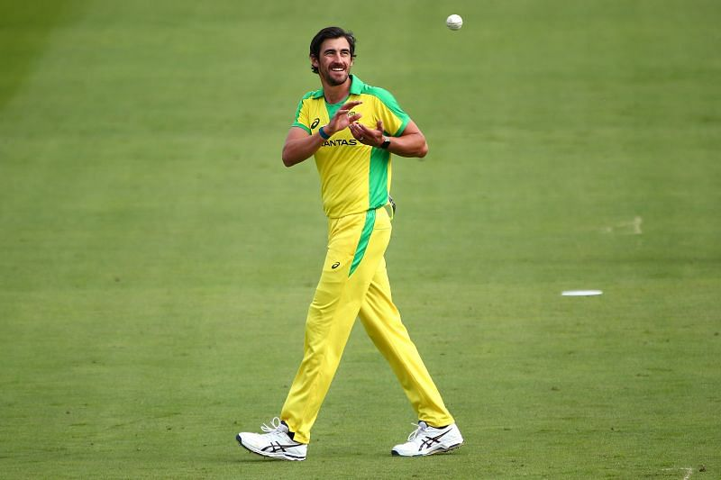 Mitchell Starc. Pic: Getty Images