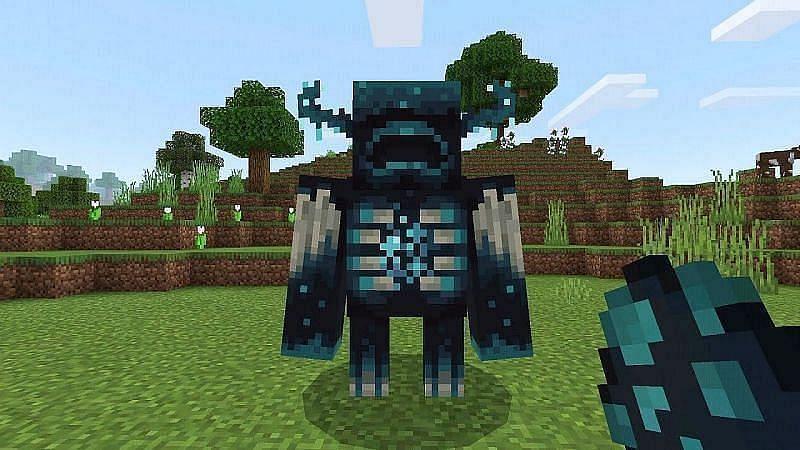 The Warden (Image via Minecraft)