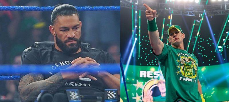 रोमन रेंस और जॉन सीना ने SmackDown में बवाल मचाया