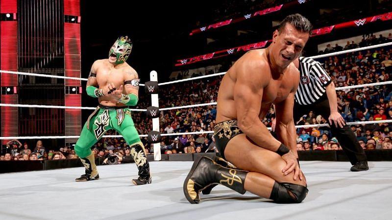 Kalisto produced an upset against Alberto Del Rio