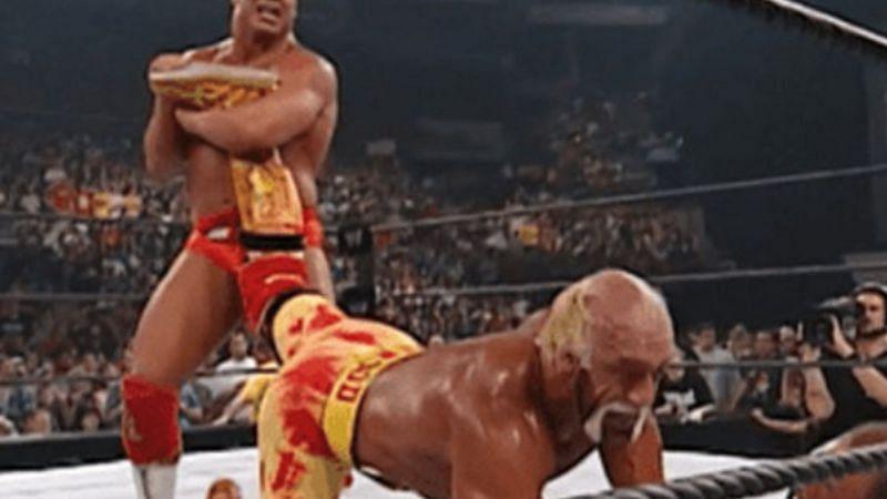Kurt Angle and Hulk Hogan