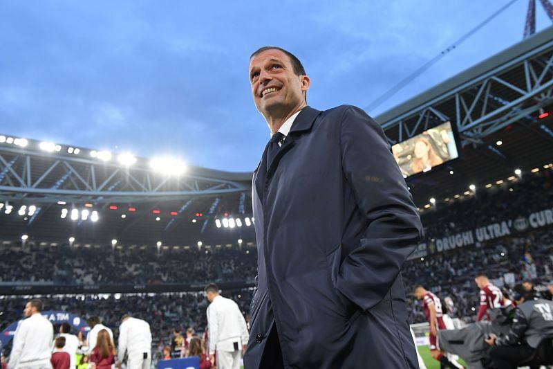 Allegri is yet to bring in any new signings at Juventus