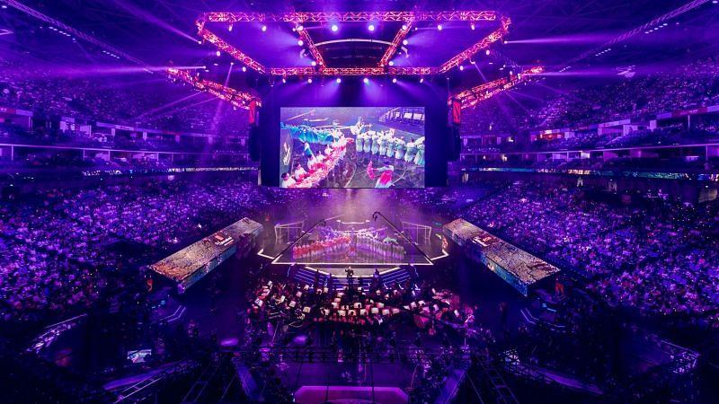 The International 9 venue (Image via Valve)
