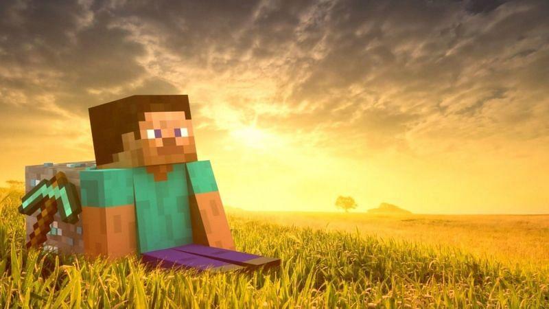 Minecraft has many rare items (Image via wallpaperflare)