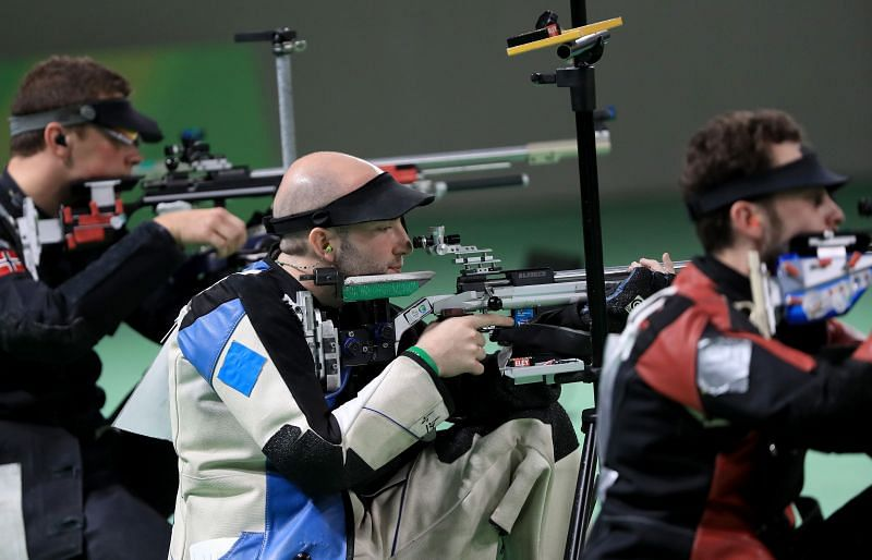 The rifle is one of the three weapons used in the Olympics