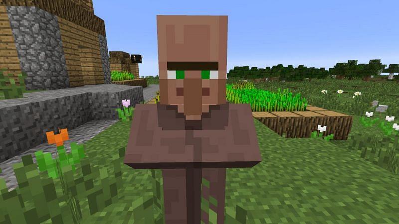 Villager Mob (Image via Minecraft)