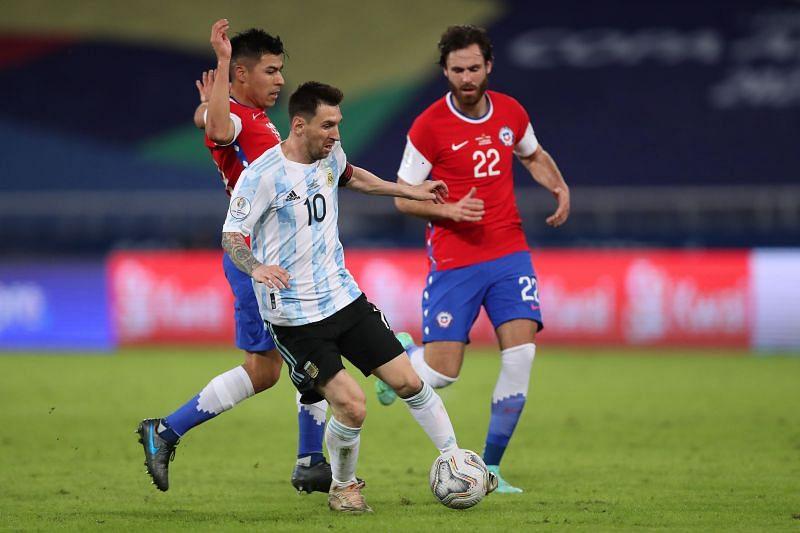 Argentina vs Chile: Group A - Copa America Brazil 2021