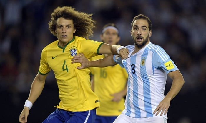 Brazil and Argentina played out a 1-1 draw in Buenos Aires