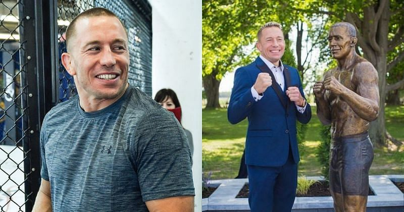 Georges St-Pierre found humor in memes of his statue [Image Courtesy: @georgesstpierre on Instagram]