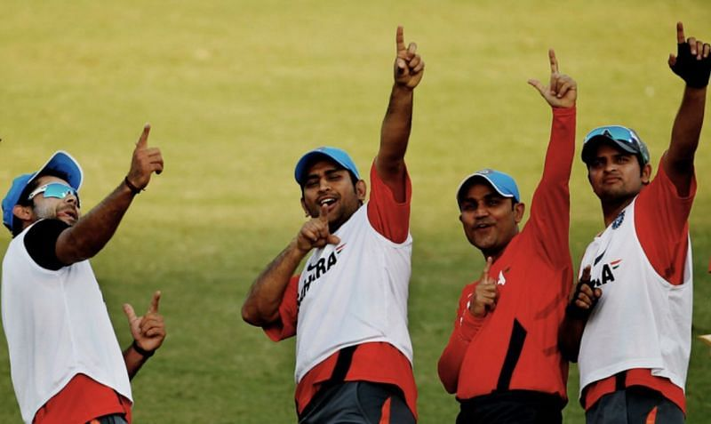 Virat Kohli, MS Dhoni, Virender Sehwag and Suresh Raina have all led India in T20Is.