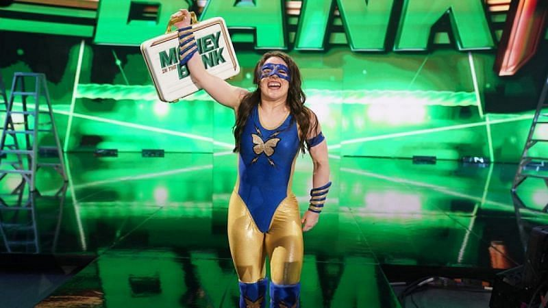 RAW Women's Champion Nikki A.S.H.