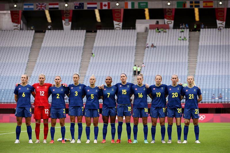 Sweden take on Japan this week