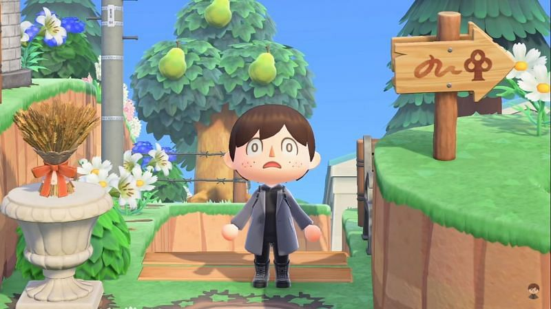 Animal Crossing's official Twitter page teases the possibility of an update (Image via Crossing channel)