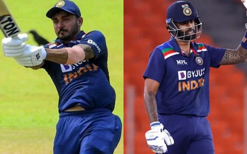 Manish Pandey(left) and Suryakumar Yadav(right) are competing for the same spot in the India white ball squad. (Picture credit: cricketnmore)