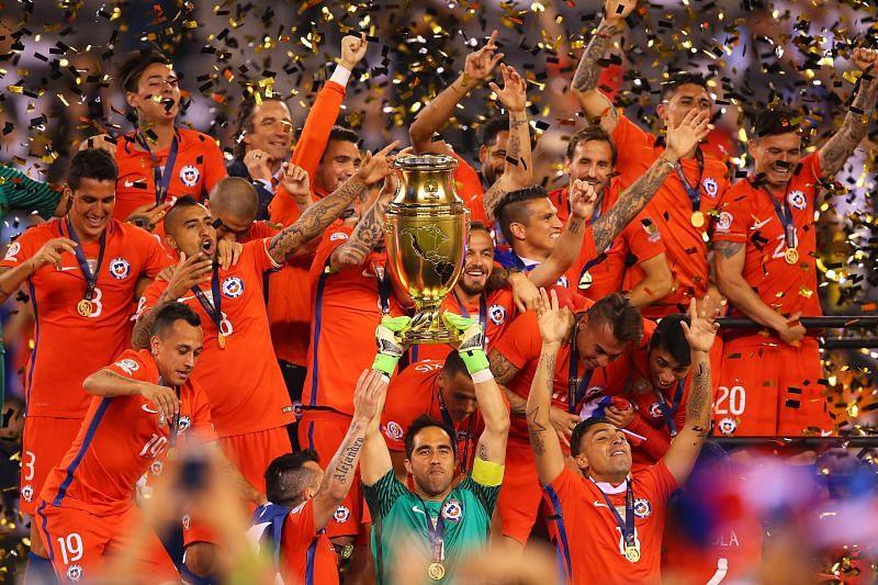 Chile won the Copa America Centenario