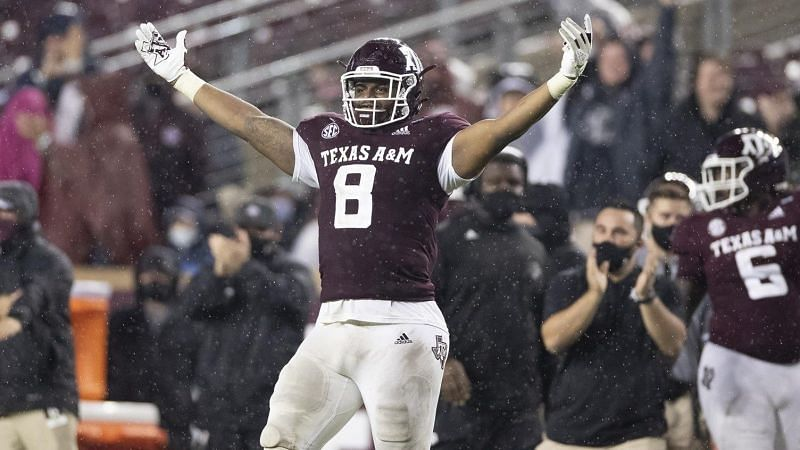 Texas A&M DL DeMarvin Leal
