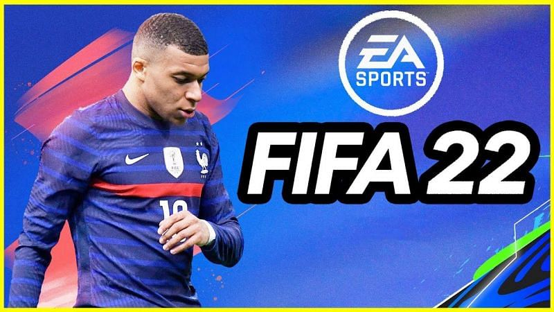 Kylian Mbappe is the cover star for FIFA 22 (Image via Vapex Karma, YouTube)