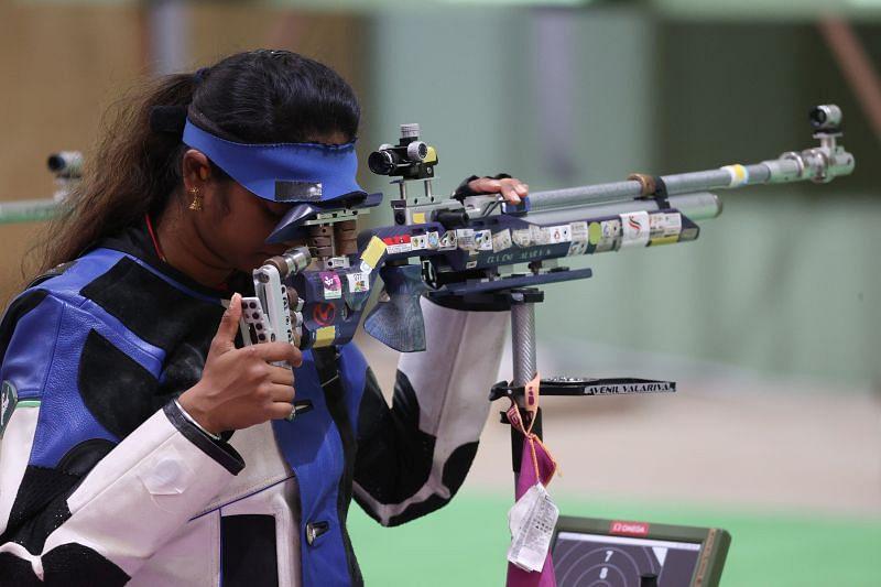 Shooting - Olympics: Day 1 - Elavenil Valarivan