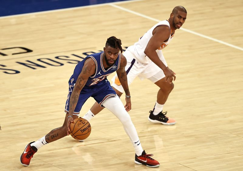 New York Knicks forward Reggie Bullock