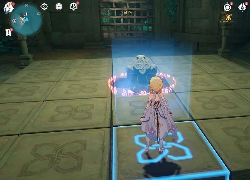 El jugador debe completar este rompecabezas (Imagen a través de Sportskeeda)