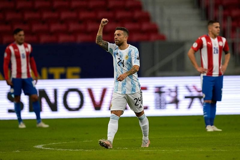 Gomez has been involved in three goals for Argentina at Copa America 2021.